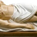 Isus in Mormant - 150 cm