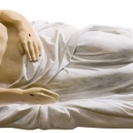 Isus in Mormant - 130 cm