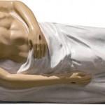 Isus in Mormant - 125 cm