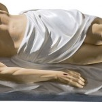 Isus in Mormant - 115 cm