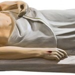 Isus in Mormant - 110 cm