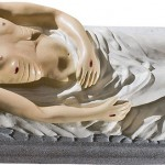 Isus in Mormant - 65 cm
